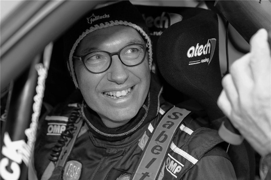 Kai Günther bei der Waldviertelrallye im Jahr 2017. Am Freitag ist er bei einem Unfall bei der Sachsen-Rallye verstorben. Auch sein Beifahrer Sebastian Walker kam ums Leben.