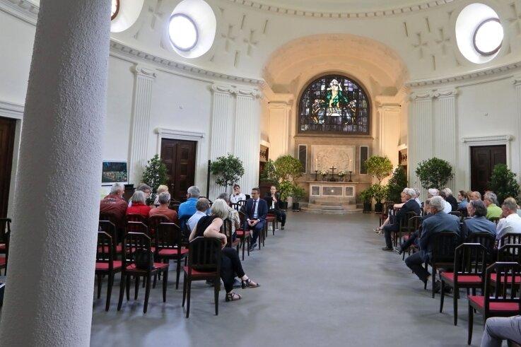 In der neuen Feierhalle in Meerane ist am Denkmaltag ein Konzert vorgesehen, bei dem sich alles um den Tango dreht.