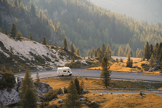 Der Natur so nah wie nie - mit einem Wohnmobil.