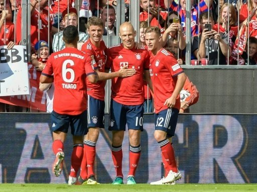Robben (M.) trifft - Bayern schlägt Leverkusen
