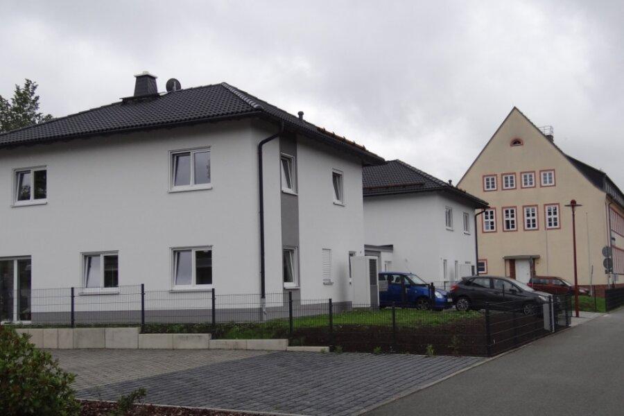 Neue Stadtvillen in Oelsnitz sind bezogen