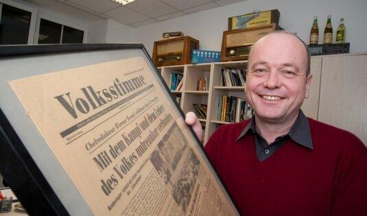 Kulturchef Ulrich Hammerschmidt