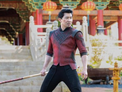 Simu Liu als Shang-Chi in einer Szene des Films «Shang-Chi and the Legend of the Ten Rings».