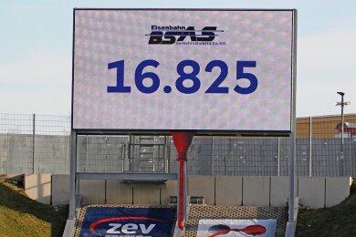 Insgesamt 16.825 Fußballfans haben Geistertickets für das Spiel zwischen dem FSV und Dynamo Dresden gekauft.