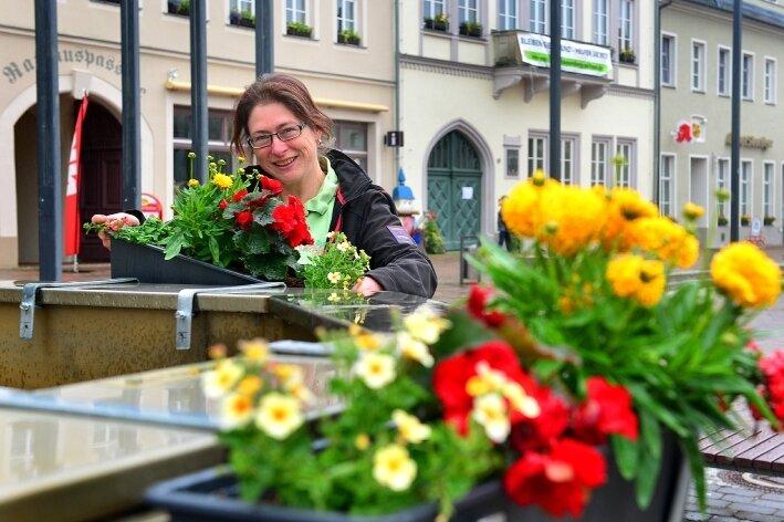 Blumen für Hundertjährigen