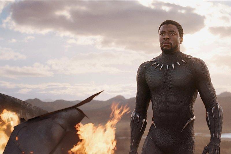 """Nebenheld Nakia (Lupita Nyong'o) in einer Szene des neuen Marvel-Blockbusters """"Black Panther""""."""