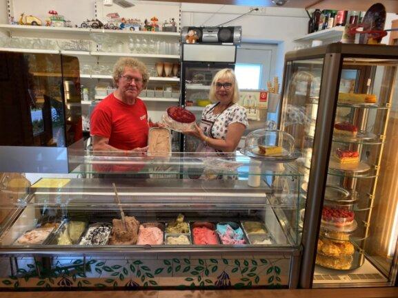 Peter und Gabi Kölb machen seit 1963 Eis.