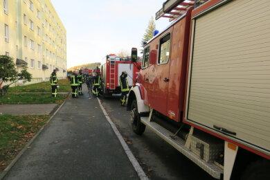 Angebranntes Essen in einer Wohnung in einem Wohnblock in Schwarzenberg hat am Samstag für einen Feuerwehreinsatz gesorgt.