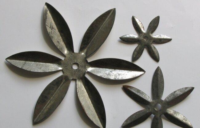 Wozu benutzte man solche Metallsterne?