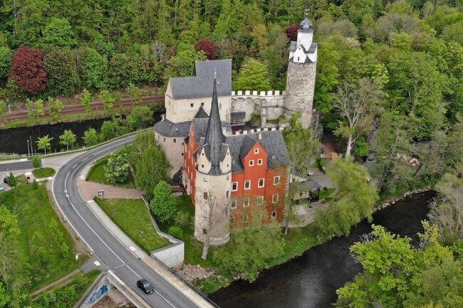 In einem Teil der Burg Stein in Hartenstein befindet sich das Museum.
