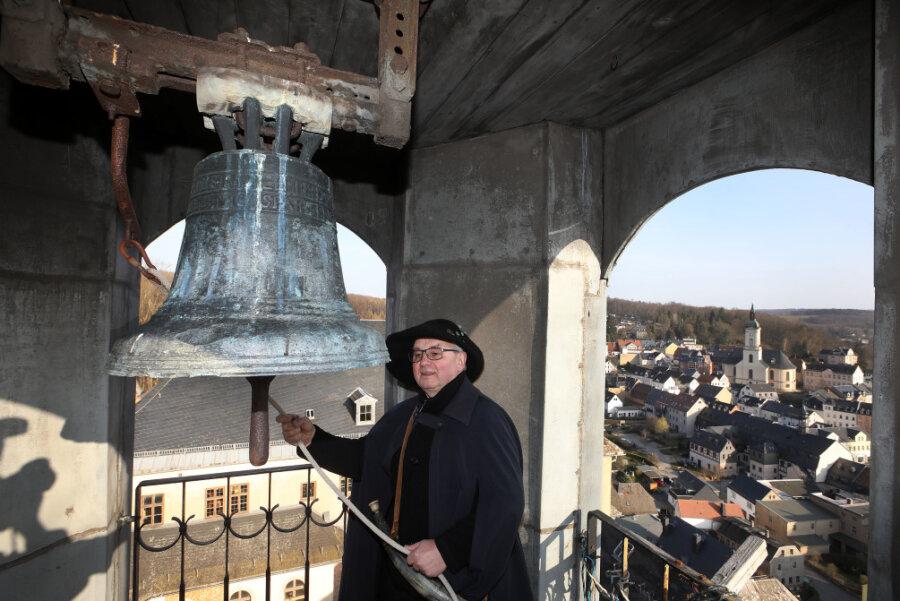 Christian Bretschneider, der Nachtwächter von Lichtenstein.