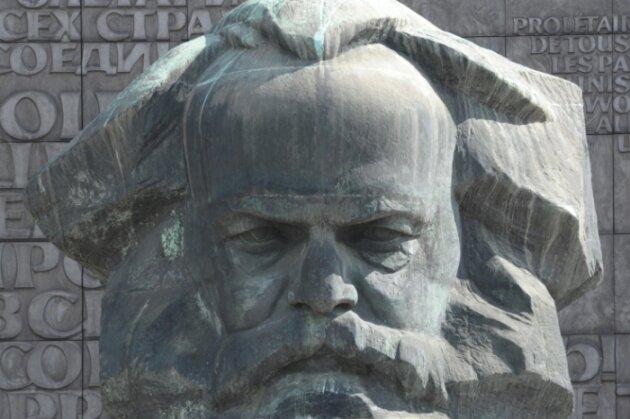 Das Karl-Marx-Monument ist am 5. Mai der Mittelpunkt einer großen Party zum 200. Geburtstag des Philosophen.