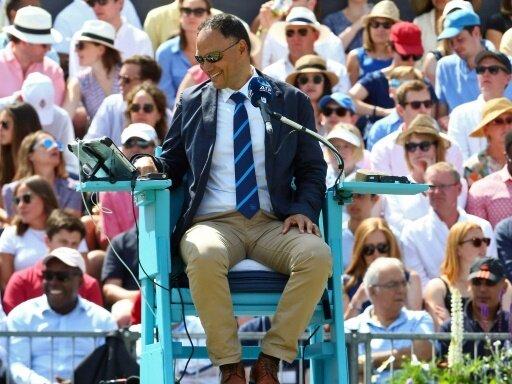 Mohamed Lahyani fällt bei den US Open aus der Rolle