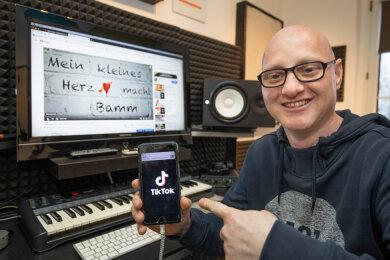"""Martin Bepunkt wird durch """"Mein kleines Herz macht bamm"""" immer bekannter."""