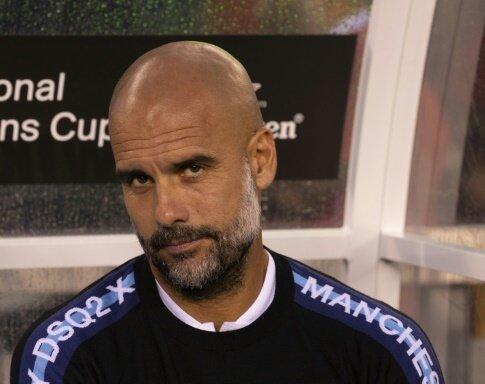 Pep Guardiola dementiert die Gerüchte um Kylian Mbappe