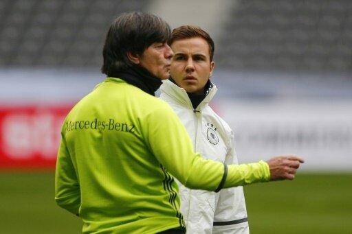 Joachim Löw wünscht sich einen formstarken Mario Götze