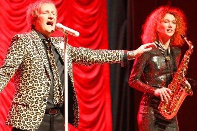Marco Wölfer gestaltete gemeinsam mit Judy Key einen Teil des Programms zum Neujahresempfang im Januar 2020.