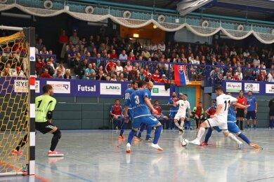 Volle Ränge wie hier beim Futsal in Hohenstein-Ernstthal wird es erst einmal nicht geben können.