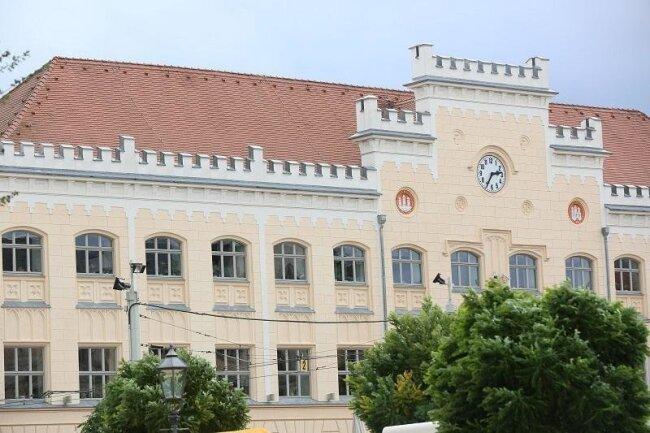 Das Zwickauer Rathaus.