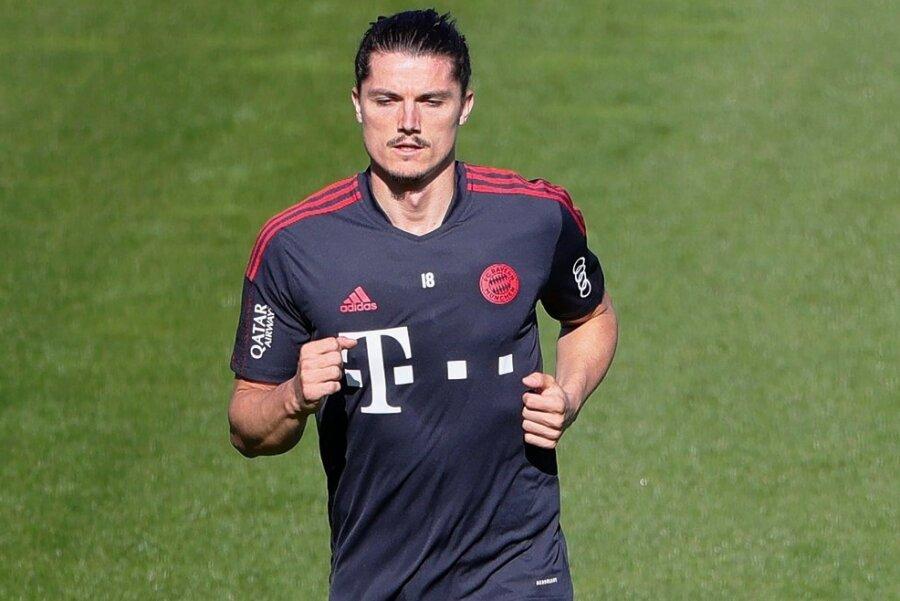 Der Ex-Leipziger Marcel Sabitzer während seiner ersten Trainingstage im Bayerntrikot.