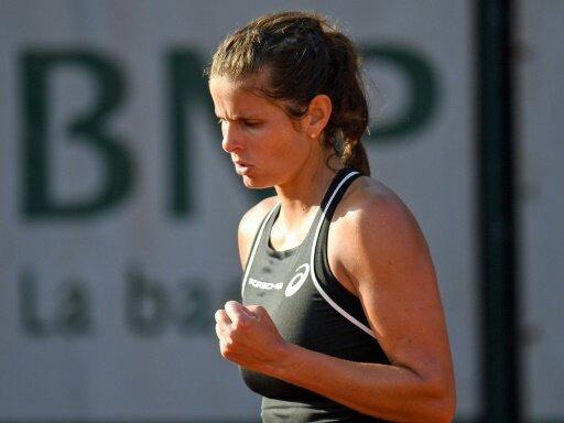 Julia Görges zieht bei den French Open in Runde zwei ein