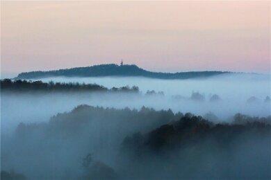 Ausblick auf Oelsnitz.