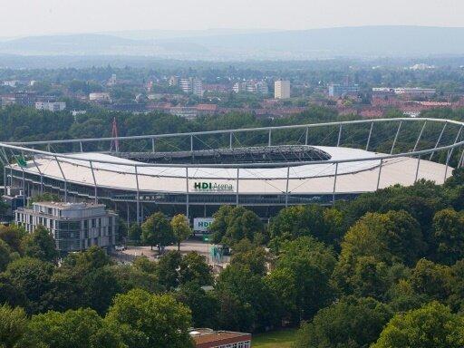 HDI-Arena als mögliches Ausweichstadion für Kiel