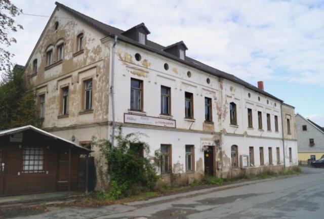 """Der Gasthof """"Grüne Laube"""" im Ortsteil Cunersdorf soll einem Gerätehaus weichen."""