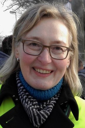 Simone Bovensiepen - Gewerkschaftssekretärin