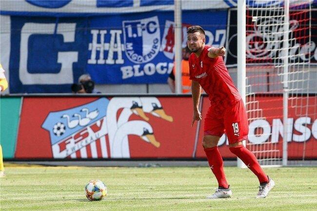 Davy Frick hat seinen Vertrag beim FSV Zwickau um zwei Jahre verlängert.