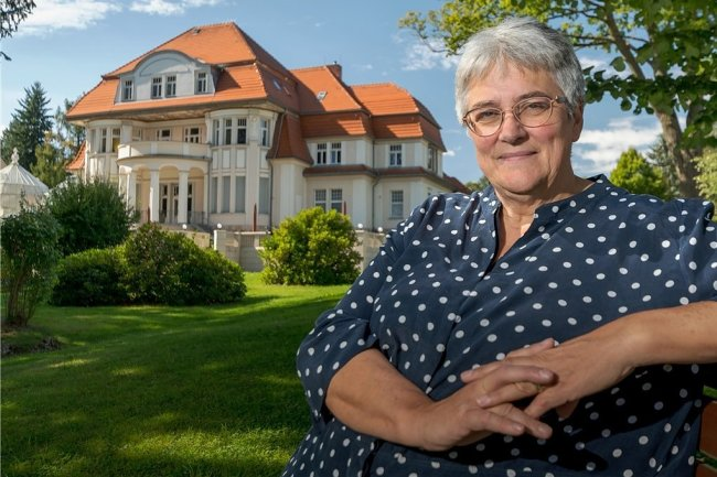 Seit dem Jahr 2000 ist Constanze Ulbricht Leiterin der Marienberger Baldauf-Villa.
