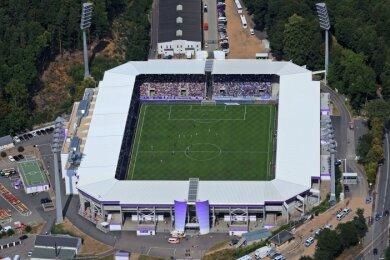 Das Auer Stadion.