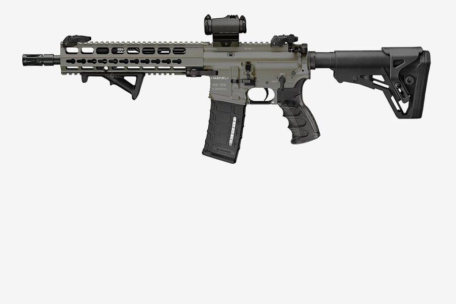 """Das Model """"MK 556"""" von C.G. Haenel aus Thüringen sollte die neue Standardwaffe der Bundeswehr werden. Doch es gibt ein Problem."""