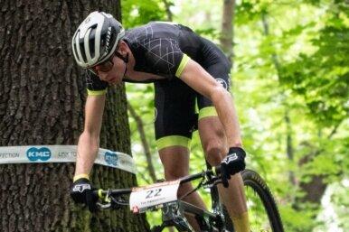 Beim Cross Country geht es für die Mountainbiker über Stock und Stein durch den Wald. Der Neukirchener Tim Hämmerlein kann das besonders schnell und gut. Vor kurzem zum Beispiel gewann der 24-Jährige den Mitteldeutschen Meistertitel in der Eliteklasse der Männer.