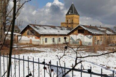 Auf dem Gelände des Alten Schlachthofs in Glauchau wurden Steine-Diebe vor gut zwei Jahren fündig.