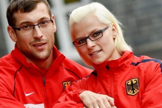 Julia und Tom Schwarzbach visieren gemeinsam Rio an.