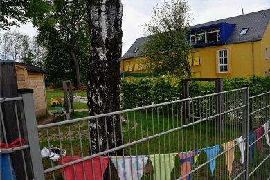 Die Kita Sonnenhaus am Harthweg: Künftig sollen dort vor allem ältere Kinder betreut werden.