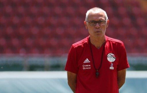 Hector Cuper coachte während der WM Ägypten