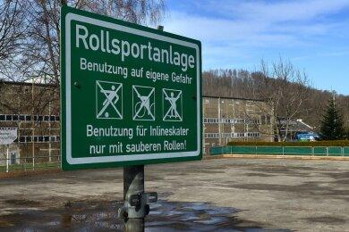 Die Rollsportanlage in Kriebethal gibt es seit 60 Jahren, zuletzt wurde sie 2001 aufwändig saniert.