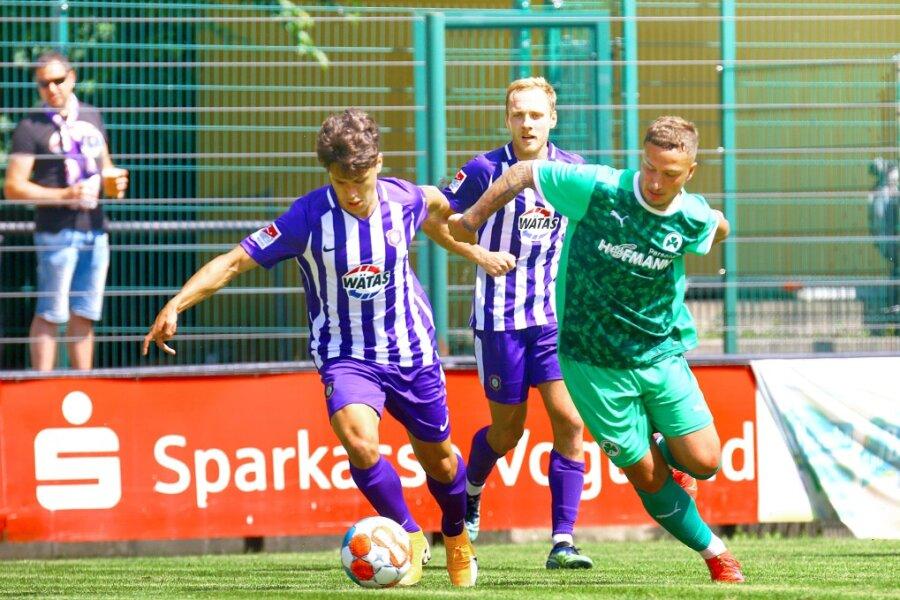 Der FC Erzgebirge Aue konnte das Blitzturnier in Auerbach für sich entscheiden.