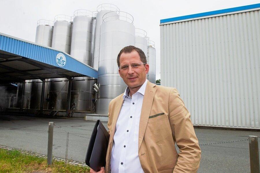 Sebastian Singer ist Technischer Leiter bei der Vogtlandmilch. Gemeinsam mit dem Geschäftsführer plant er die Erweiterung.