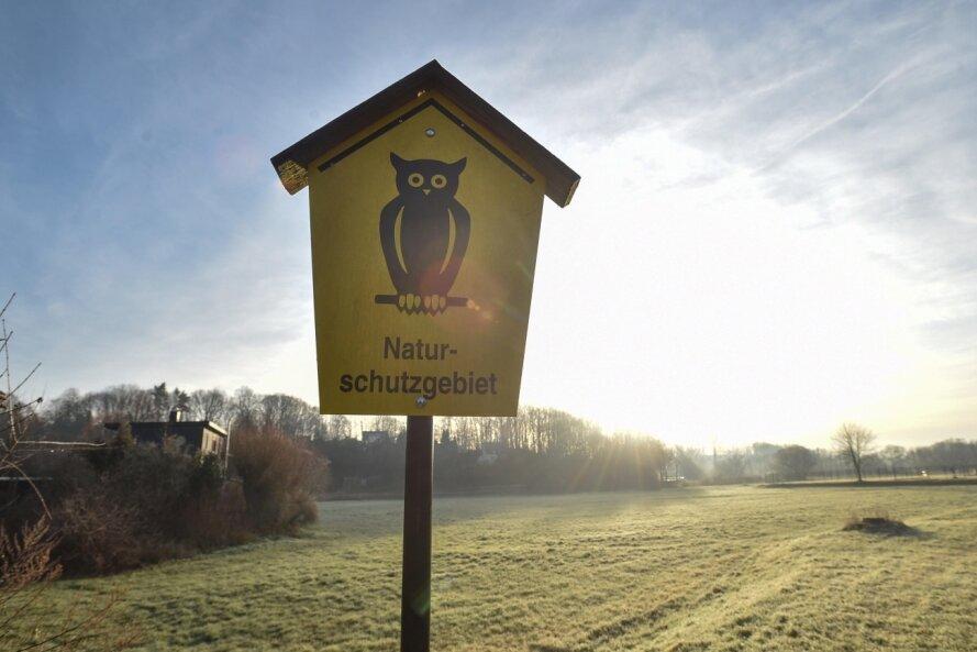 In der Chemnitzaue bei Draisdorf hat die Stadt 2015 ein rund 83 Hektar großes Naturschutzgebiet festgesetzt. Dagegen hatte die Agrargenossenschaft Wirtschaftshof Sachsenland geklagt, weil sie in einem Teil des Gebietes Tierfutter anbaut und Beschränkungen des Düngereinsatzes befürchtet.
