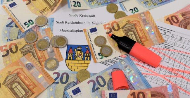Im Entwurf des Doppelhaushalts 2021/22 der Stadt Reichenbach muss der Rotstift angesetzt werden.