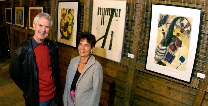 Zu den ausstellenden Künstlern im Kunsthof gehören auch Georg Felsmann und Petra Tränkner.
