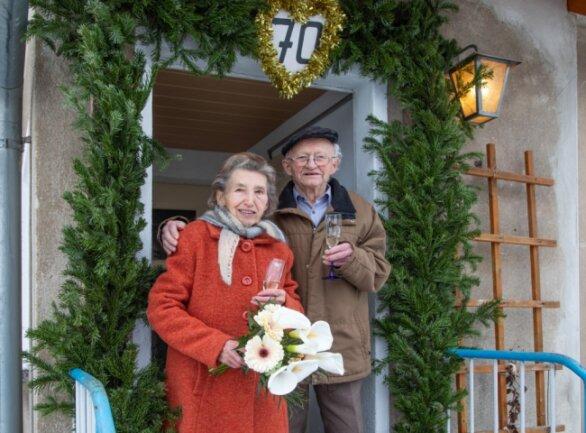 Ursula und Wilhelm Rabe sind seit 70 Jahren verheiratet.