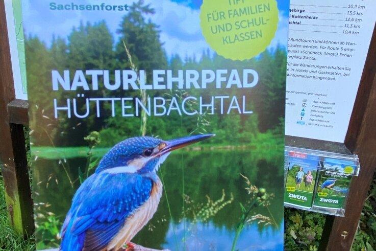 Neuer Flyer für Hüttenbachtal