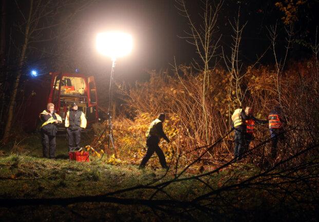 Am Montagabend wurde an Bahngleisen in Hohenstein-Ernstthal eine Leiche gefunden.