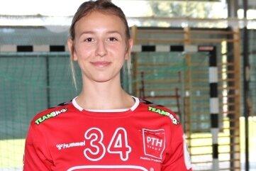 Rückkehrerin Flora Müller begann mit dem Handball in Burgstädt, spielte in der Jugend in Chemnitz und zuletzt beim Bundesligisten in Ketsch.