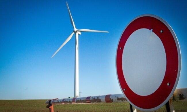 Windräder wie dieses bei Altenhain möchten die Bewohner von Langenstriegis nicht vor ihrer Tür haben.