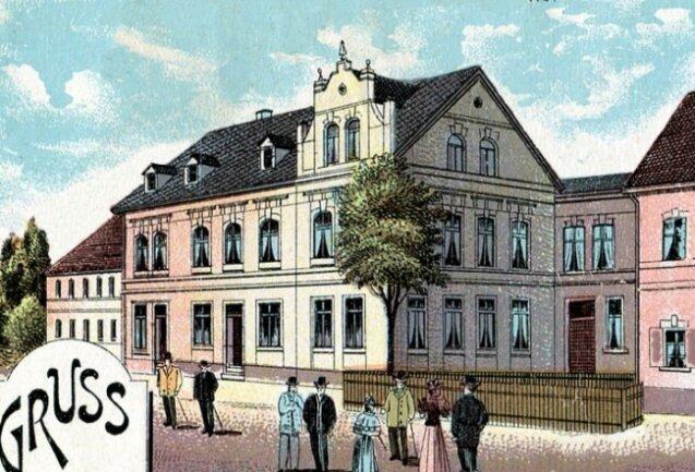 Ansichtskarte von 1912.